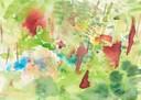 """""""Campo Pucallpa"""", Aquarell auf Papier, 21 x 30 cm, 2019"""