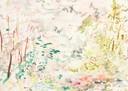 """""""Riachuelo Chongo 1"""", Aquarell auf Papier, 18 x 25 cm, 2019"""