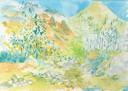 """""""Riachuleo Chongo 2"""", Aquarell auf Papier, 26 x 36 cm, 2019"""