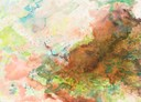"""""""Valle Sagrado 3"""", Aquarell auf Papier, 18 x 25 cm, 2019"""
