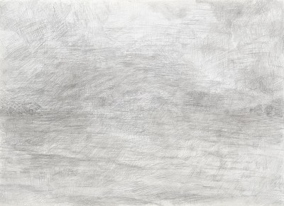 """""""Donaureise"""", Blatt 3, Bleistift auf Papier, 14,5 x 21 cm, 2017"""