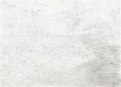 """""""Donaureise"""", Blatt 6, Bleistift auf Papier, 14,5 x 21 cm, 2017"""