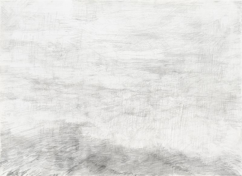 """""""Donaureise"""", Blatt 7, Bleistift auf Papier, 14,5 x 21 cm, 2017"""