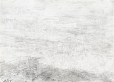 """""""Donaureise"""", Blatt 7, Bleistift auf Papier, 21 x 29 cm, 2017"""