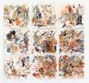 """SelvaAmazonica"", Naturfarben auf Papier, 60x60 cm, 2018"